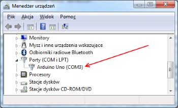 COM port for Arduino... Click to enlarge...